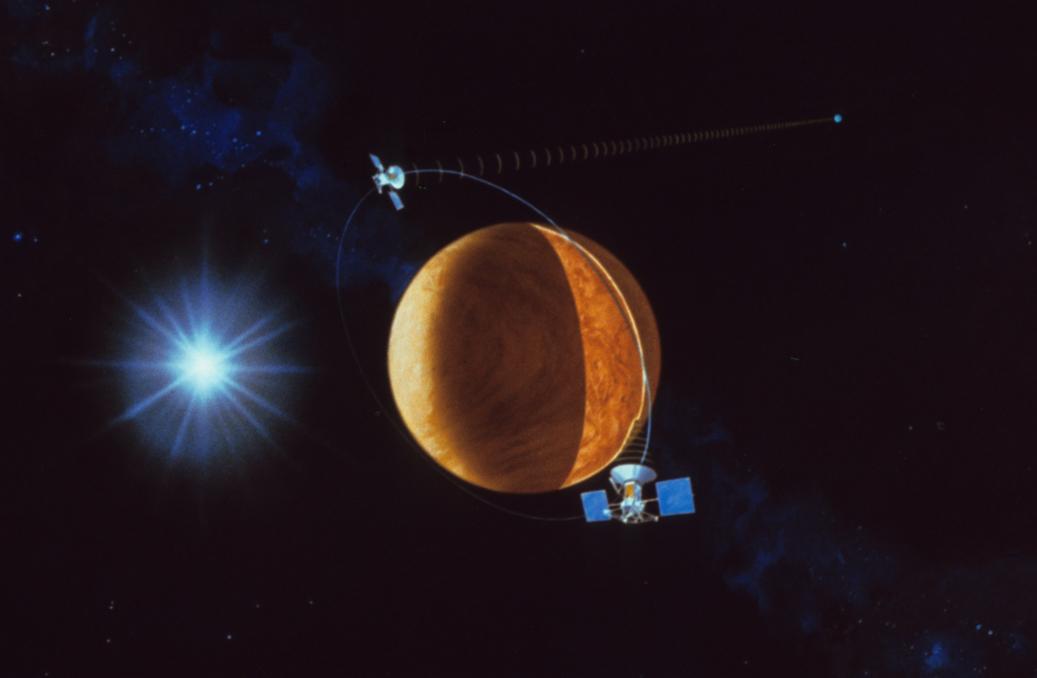 near spacecraft magellan venus mission - photo #20